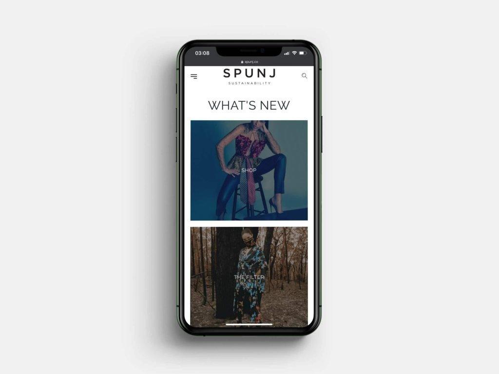 SPUNJ Mobile Homepage